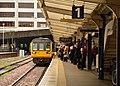 Train in Harrogate station (geograph 2922274).jpg