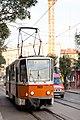 Tram in Sofia mear Macedonia place 2012 PD 002.jpg