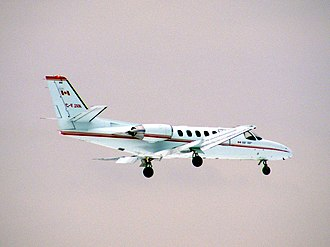 Transport Canada - A TC Cessna 550 Citation II