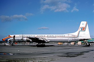 Canadair CL-44 airliner series