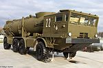 Transporter erector launcher of Redut coastal missile system at Park Patriot 01.jpg