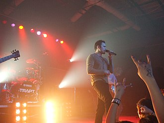 Trapt - Trapt vocalist Chris Taylor Brown live in Abilene, Texas