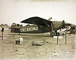 Travel Air 5000 Oklahoma NX911 on ground before ill-fated Dole race (rfq).jpg