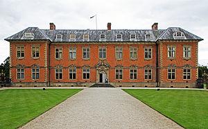 Tredegar House - Main entrance to Tredegar House