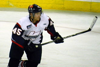 Trent Daavettila - Daavettila playing for Kalamazoo