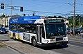 TriMet Gillig hybrid bus 3056 at 82nd & Multnomah on line 72 (2019).jpg