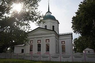 Khorol Raion - Image: Trinity Church, Vyshniaky