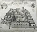 Trinity Hall, Cambridge by Loggan 1690 - sanders 6178.jpg