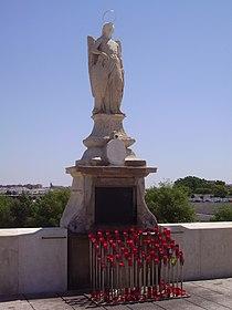 Triunfo de San Rafael del Puente Romano.JPG