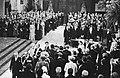 Troonswisseling 30 april , inhuldiging in Nieuwe Kerk nr. 14 , 15, 16 binnen…, Bestanddeelnr 930-8042.jpg
