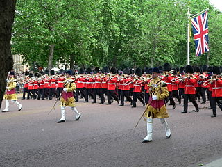 Regimental marches of the British Army