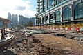 Tseung Kwan O Waterfront Park cycle path destroy after Typhoon Mangkhut 201809.jpg