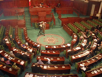 Assembly of the Representatives of the People - Image: Tunisian M Ps in Constituent Assembly