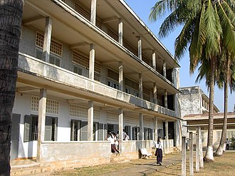 Khmer Rouge rule of Cambodia - The Tuol Sleng Genocide Museum, Phnom Penh
