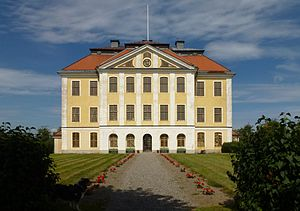 The Best Intentions - Tureholm Castle was a shooting location for the film.