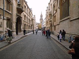 Turl Street street in Oxford, United Kingdom