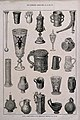 Twenty two ancient drinking vessels from an exhibition. Wood Wellcome V0019325.jpg
