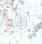 Typhoon Cora surface analysis 8 July 1964.png