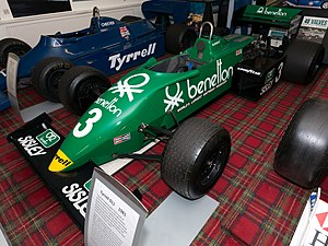 Tyrrell 011 - Image: Tyrrell 011 front left Donington Grand Prix Collection