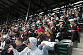 U.S. Sailors from Navy Region Midwest, Navy Recruiting Chicago and Naval Station Great Lakes,Ill., enjoy opening day Major League Baseball between the Chicago White Sox and Minnesota Twins April 7, 2008 at U.S 080407-N-IK959-205.jpg