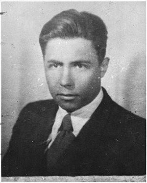 Anatoli Yatskov - Photo of Yatskov from Rosenberg trial files, taken before 1950
