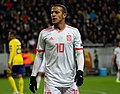 UEFA EURO qualifiers Sweden vs Spain 20191015 Thiago Alcantara 13.jpg