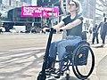UNAwheel Mini Active wheelchair power add-on in Los Angeles 4.jpg
