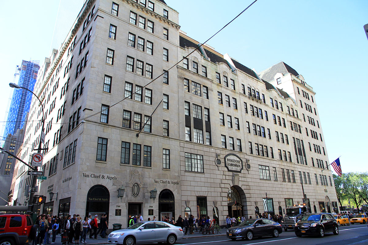 Bergdorf goodman wikipedia for Jewelry stores in new york ny
