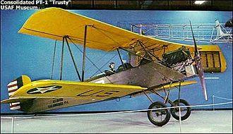 Consolidated PT-1 Trusty -  Consolidated PT-1 'Trusty' NMUSAF