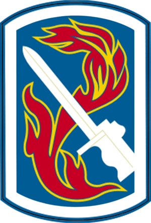 198th Infantry Brigade (United States) - Shoulder sleeve insignia