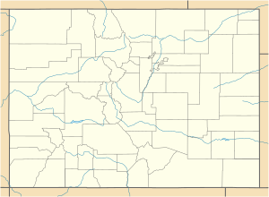 KBKF is located in Colorado