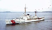 USCGC Duane (WHEC-33) returning from Vietnam 1968