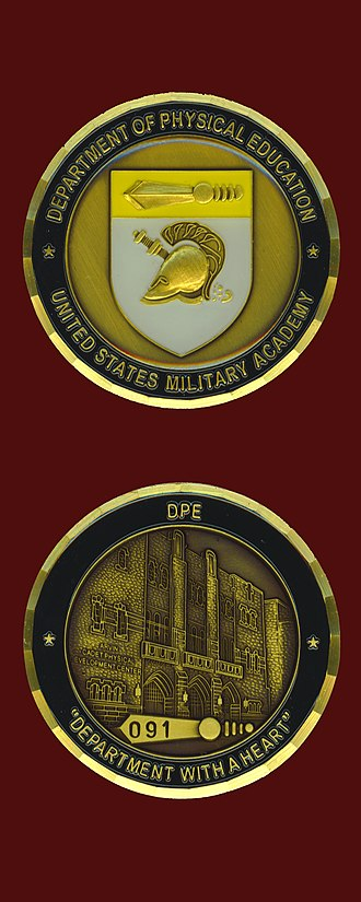 Department of Physical Education - DPE Coin