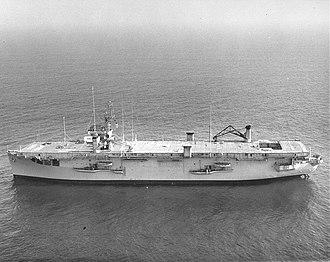 USS Croatan (CVE-25) - Croatan in 1964