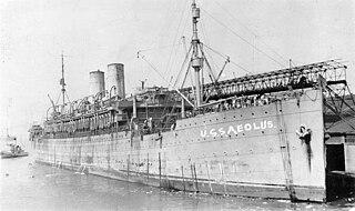 USS <i>Aeolus</i> (ID-3005) ship