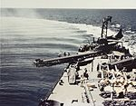USS Biloxi (CL-80) about to catapult a Curtiss SO3C in 1943.jpg