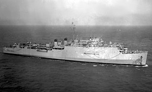 USS Comstock (LSD-19) underway off Korea 1951.jpg