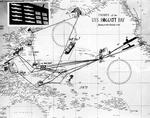 USS Hoggatt Bay (CVE-75) World War II track chart (UA 571.23).png
