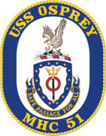 USS Osprey MH-C51 Crest.png