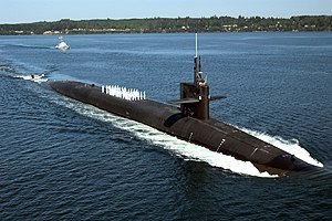 The USS Tennessee (SSBN-734)