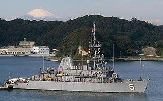 USS <i>Guardian</i> (MCM-5) Avenger-class mine countermeasures ship