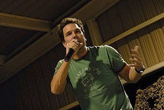 Dane Cook - Cook at a USO tour in 2008