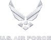 US Air Force Logo Silver.svg