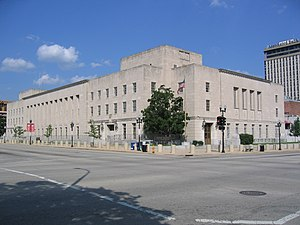 United States District Court for the Central District of Illinois - U.S. Courthouse in downtown Peoria (2008)