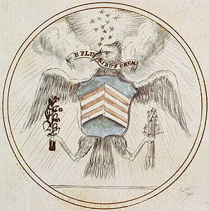 1782 in the United States - June 20: Great Seal of the United States