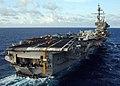 US Navy 040611-N-4374S-012 The conventionally powered aircraft carrier USS John F. Kennedy (CV 67) cruises the Atlantic Ocean.jpg