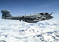 US Navy 050516-N-8921O-001 An EA-6B Prowler, assigned to the Black Ravens of Electronic Attack Squadron One Three Five (VAQ-135), flies near Mt. Baker during a training exercise.jpg