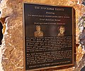 US Navy 061024-N-1226D-049 A commemorative plaque is awarded to retired Vice Adm. James Bond Stockdale who passed away one year ago.jpg
