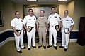 US Navy 070717-N-0696M-024 Chief of Naval Operations (CNO) Adm. Mike Mullen greets the 2007 Sailors of the Year.jpg