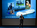 US Navy 071017-N-6932B-042 Chief of Naval Operations (CNO) Adm. Gary Roughead addresses the leaders of maritime forces from more than 90 different nations around the world at the 18th International Seapower Symposium.jpg